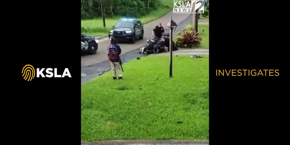 GRAPHIC: Minden PD officers seen on video kicking, punching man on ground - Pt. 2