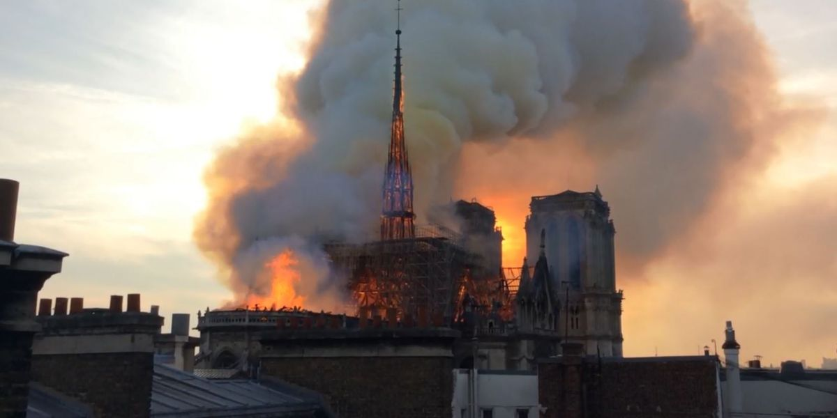 Small donors, not French tycoons, help pay Notre Dame workers