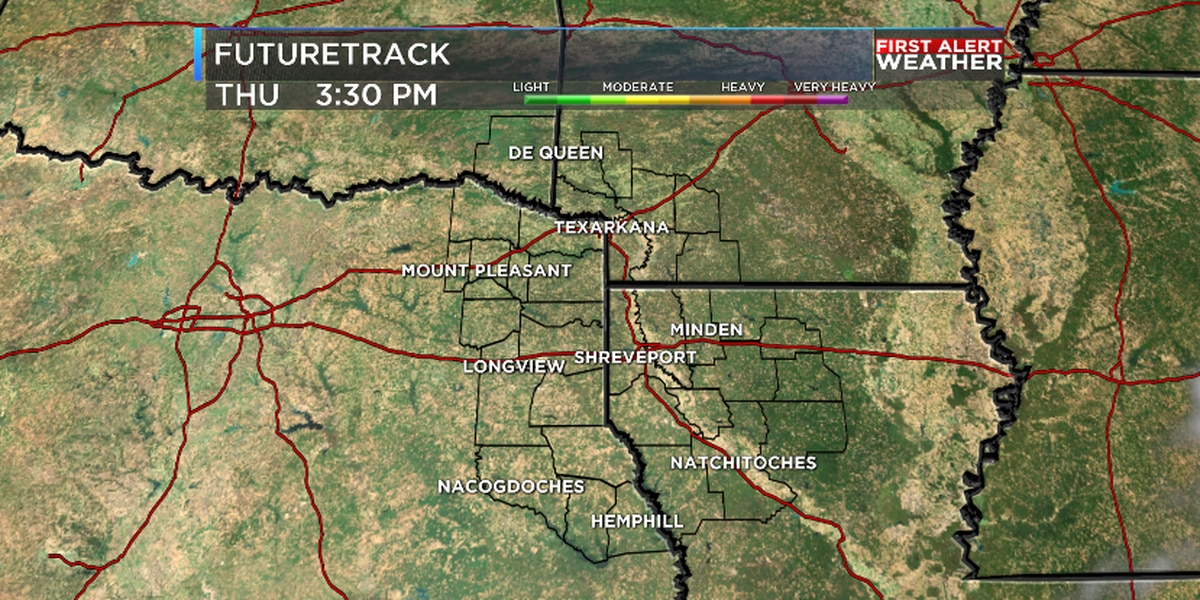 Skies clear quickly for ArkLaTex