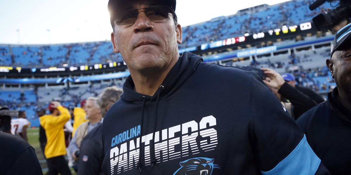 Ron Rivera addresses being fired by Panthers: 'Get ready for the next chapter'