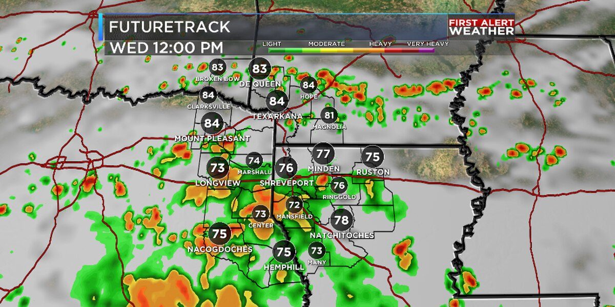 FIRST ALERT: Periods of heavy rain possible Wednesday through Friday