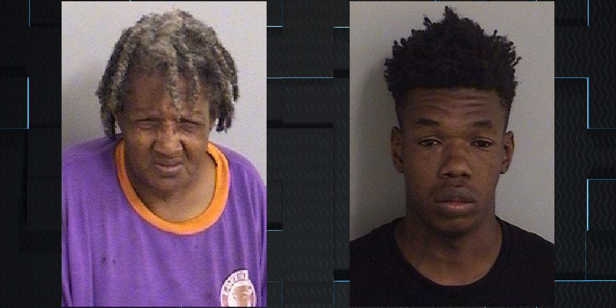 Mother, son arrested for setting cars on fire in Walmart parking lot