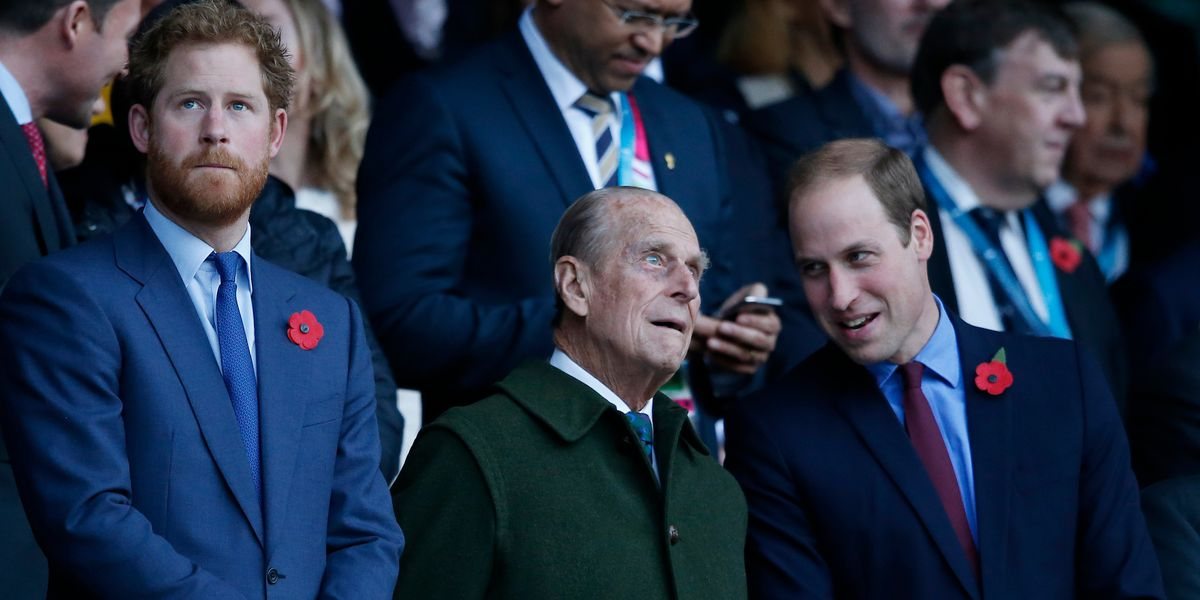 William, Harry remember Prince Philip's wit, service to UK
