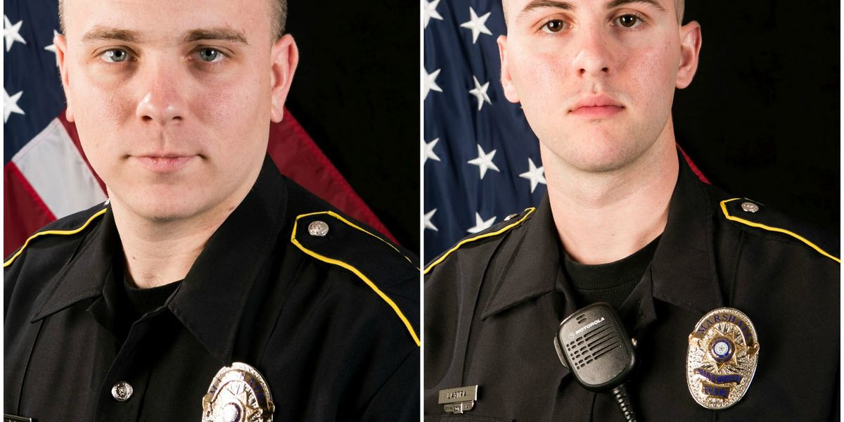 Marshall officers recognized for heroic response to fiery crash