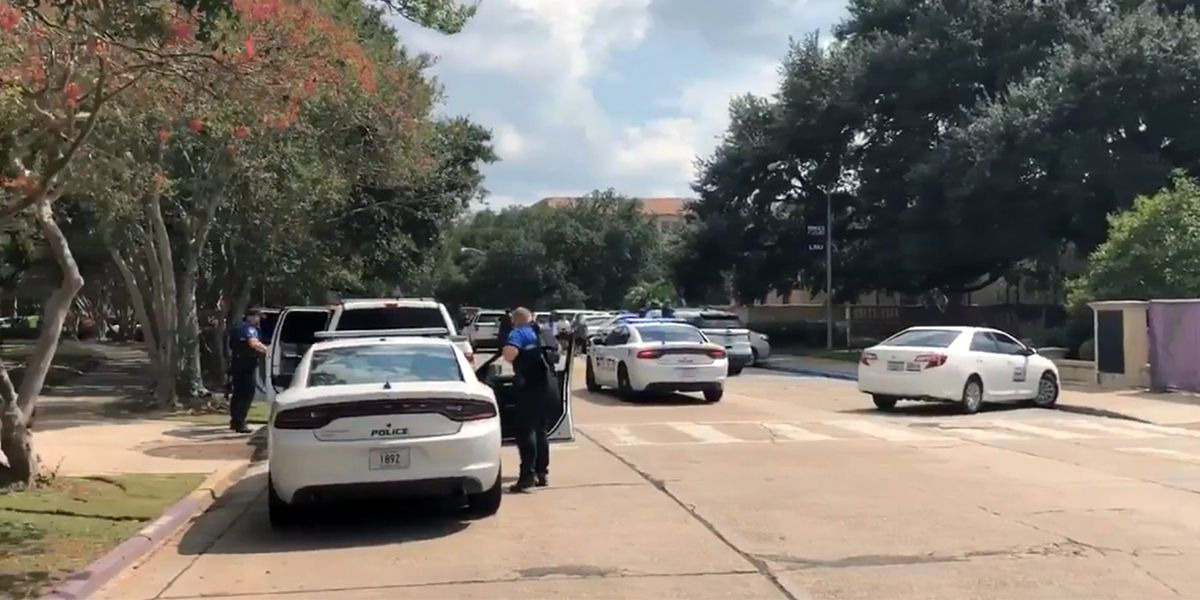 Quad still advised to shelter in place after reports of armed intruder on LSU campus; all clear not yet given