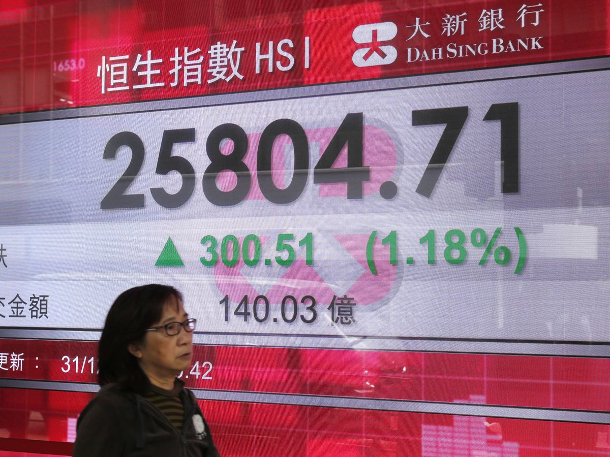 Asian markets mostly higher in quiet New Year's Eve trading