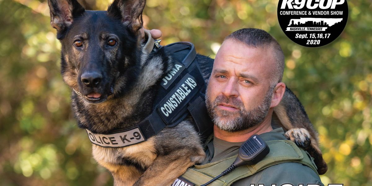 Wood County K-9 officer featured on cover of law enforcement magazine