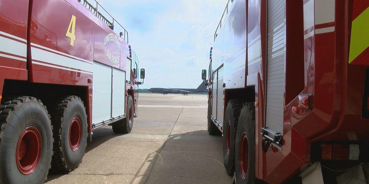 KSLA Salutes: Barksdale Firefighters