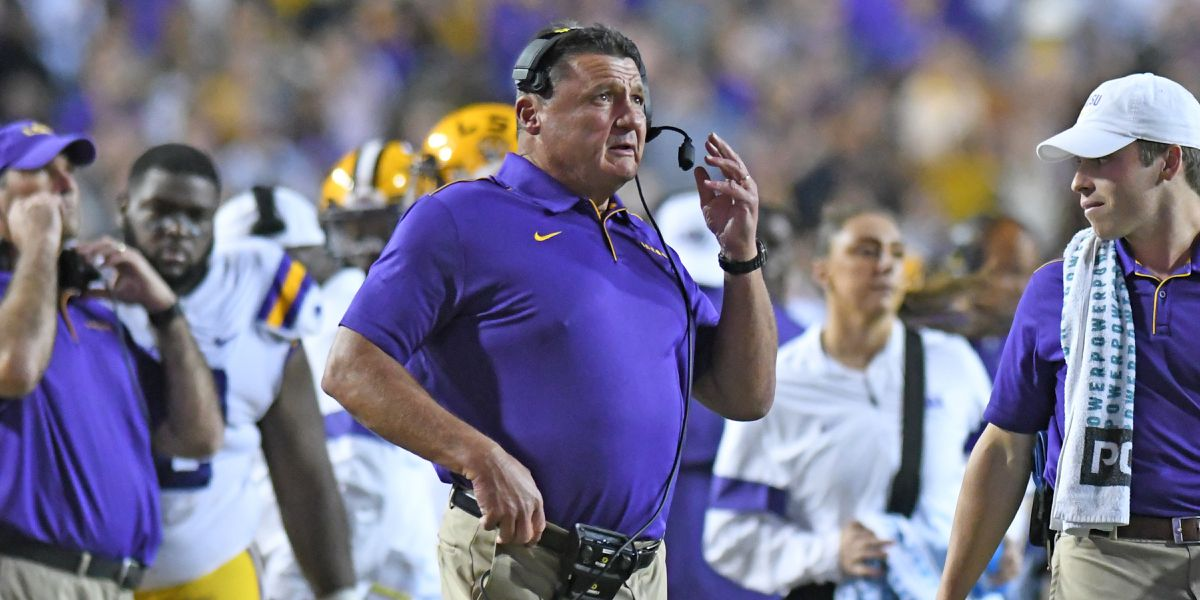 Lunch with Coach O: LSU vs Alabama Preview