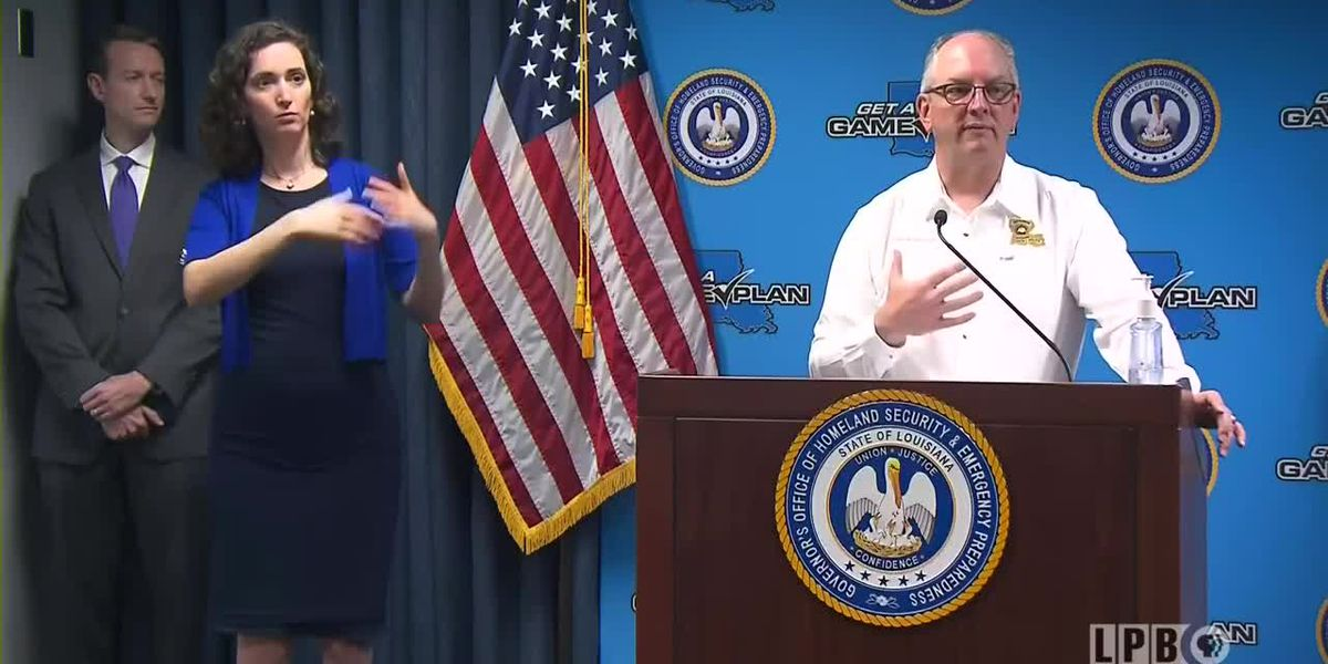 La. Gov. Edwards announces $1.8 billion in direct aid coming to state as COVID-19 deaths climb to 119
