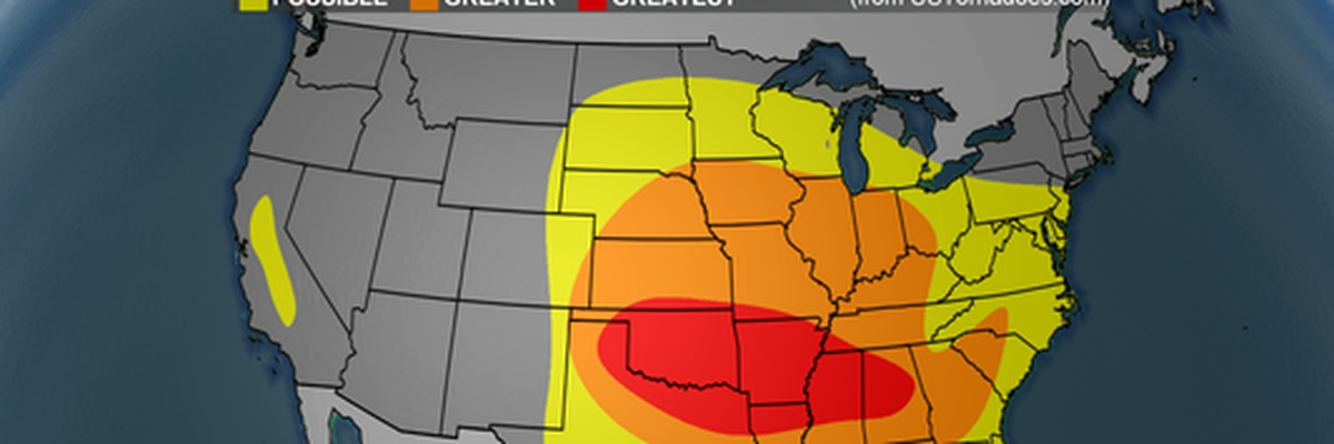 Why is April such an active month for severe weather?