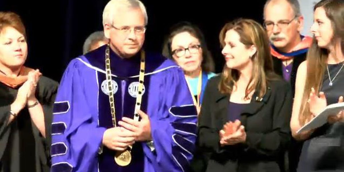Henderson formally installed as NSU President