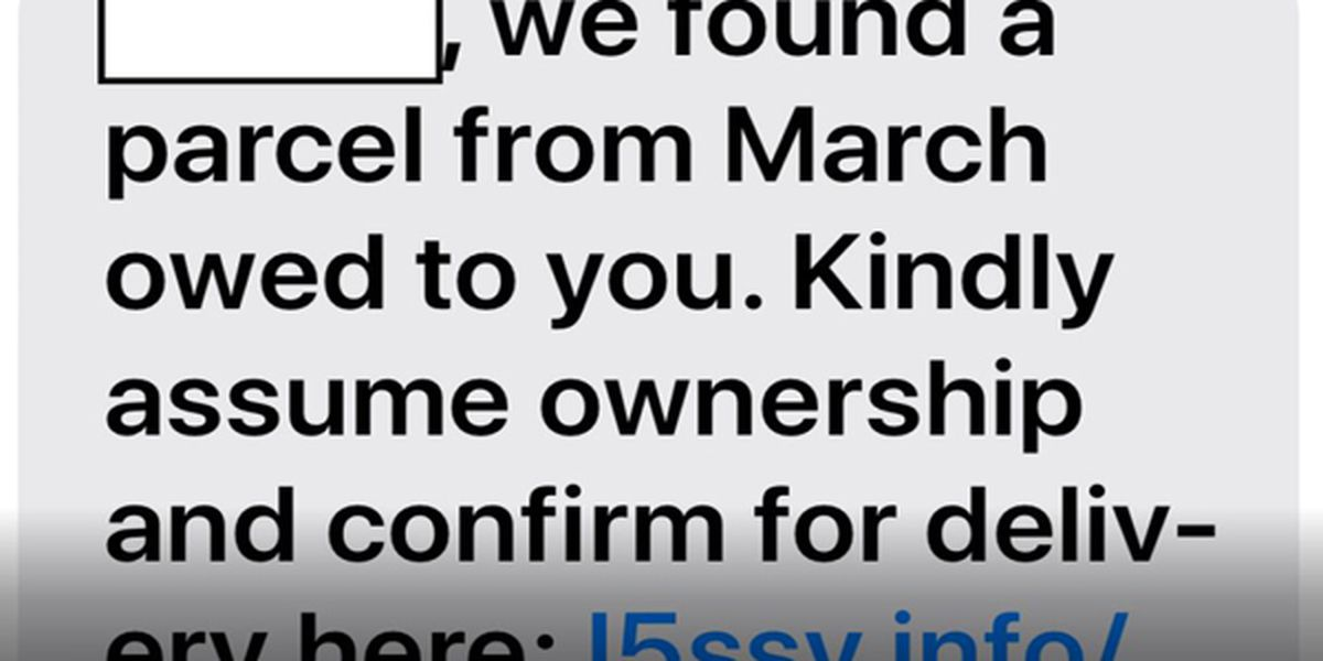 New text messaging scam includes recipient's name and potentially dangerous link