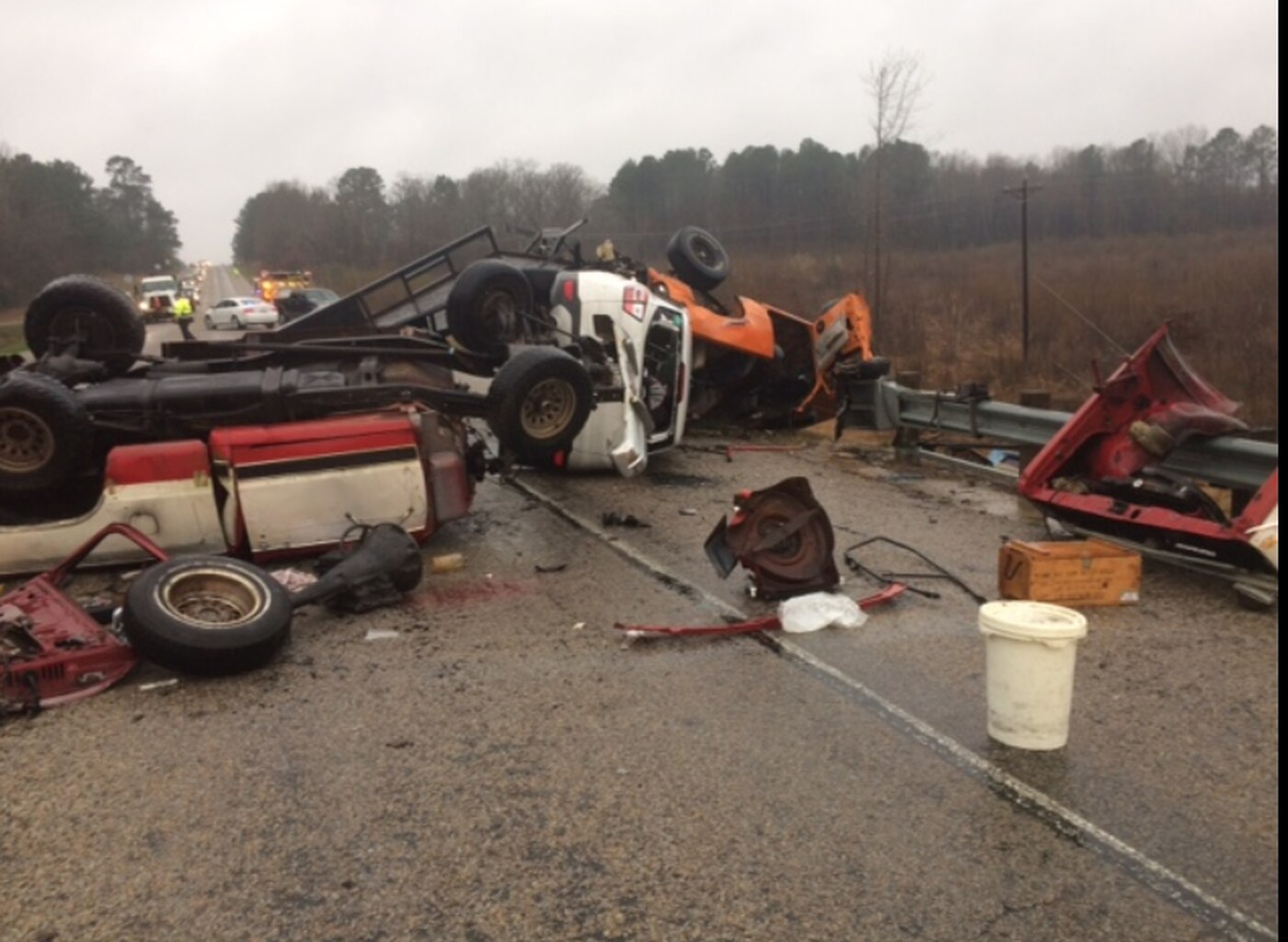 U S  67 collision sends 4 people to hospital, impacts travel