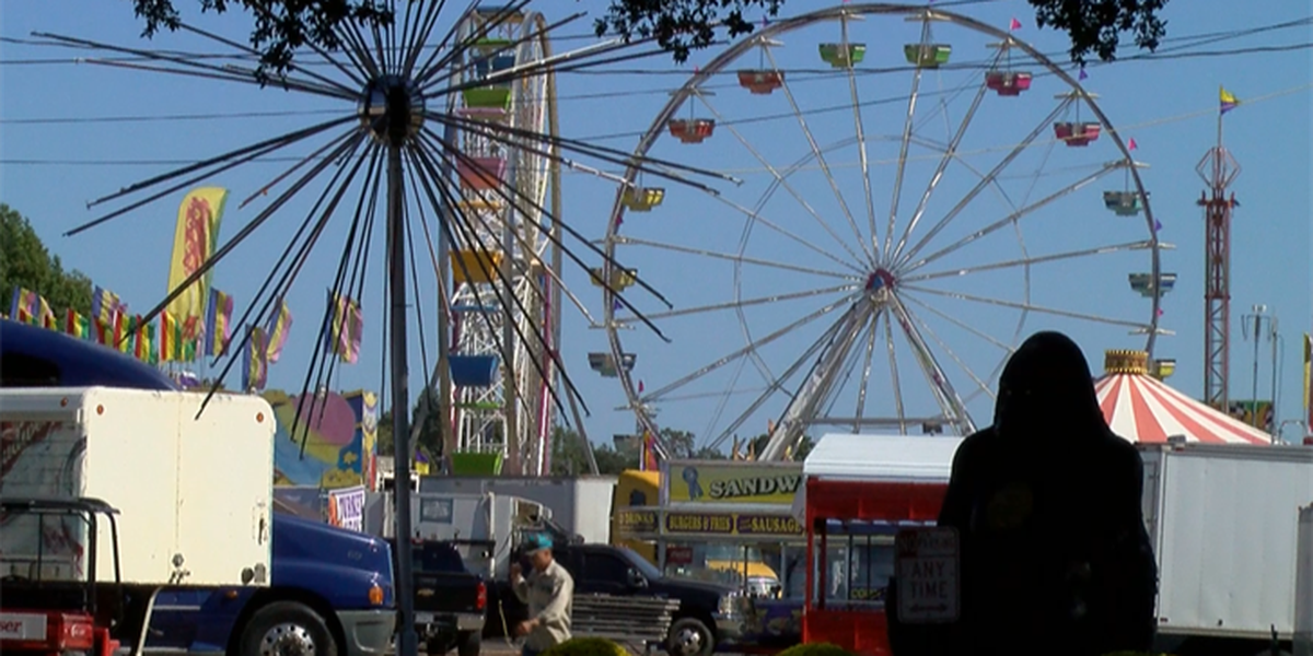 Rides inspected before LA State Fair opening day Thursday