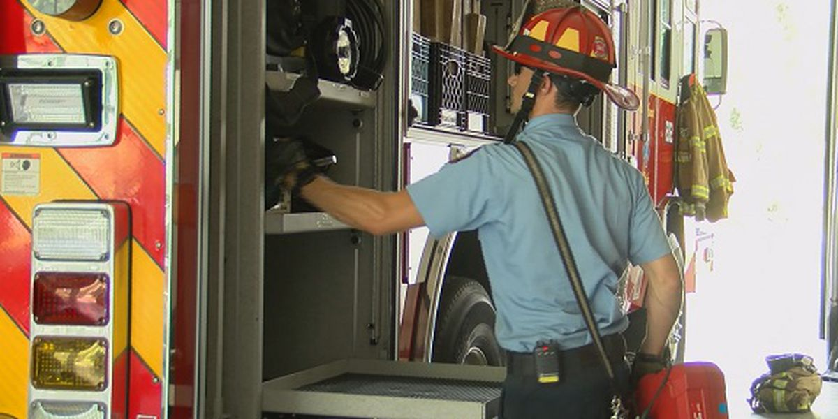 International Association of Fire Fighters prepping for Hurricane Dorian