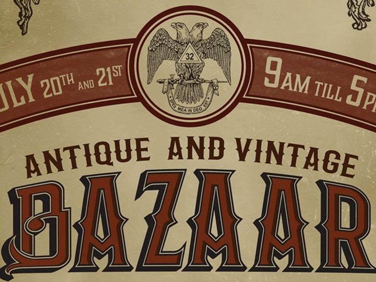 Historic Scottish Rite Cathedral to host first antique & vintage bazaar