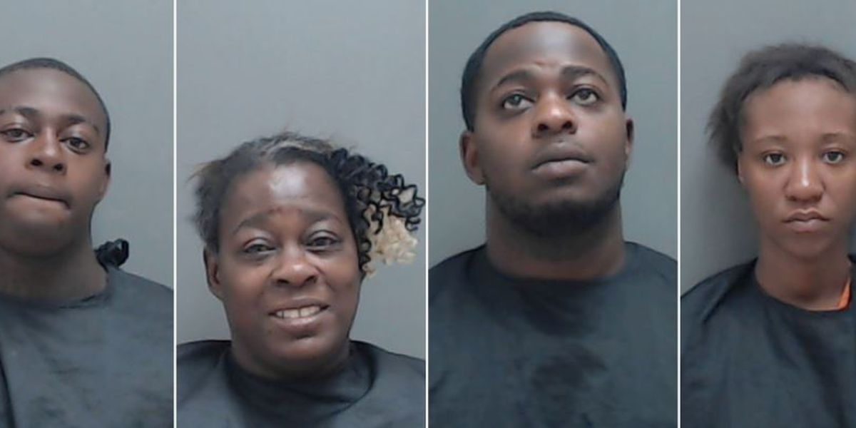 Quest for burglary suspect leads to 4 arrests