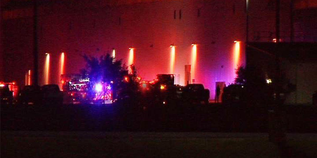 SFD: 'Liquid' fire under control at Port of Caddo-Bossier plant