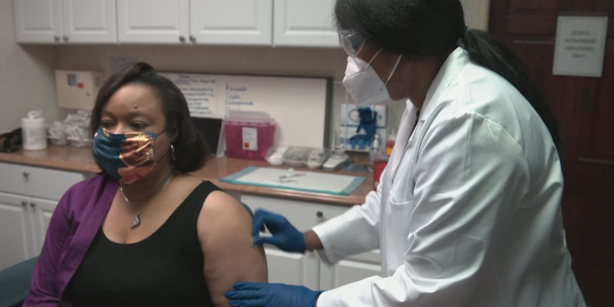 WTOC anchor Dawn Baker taking part in COVID-19 vaccine trial