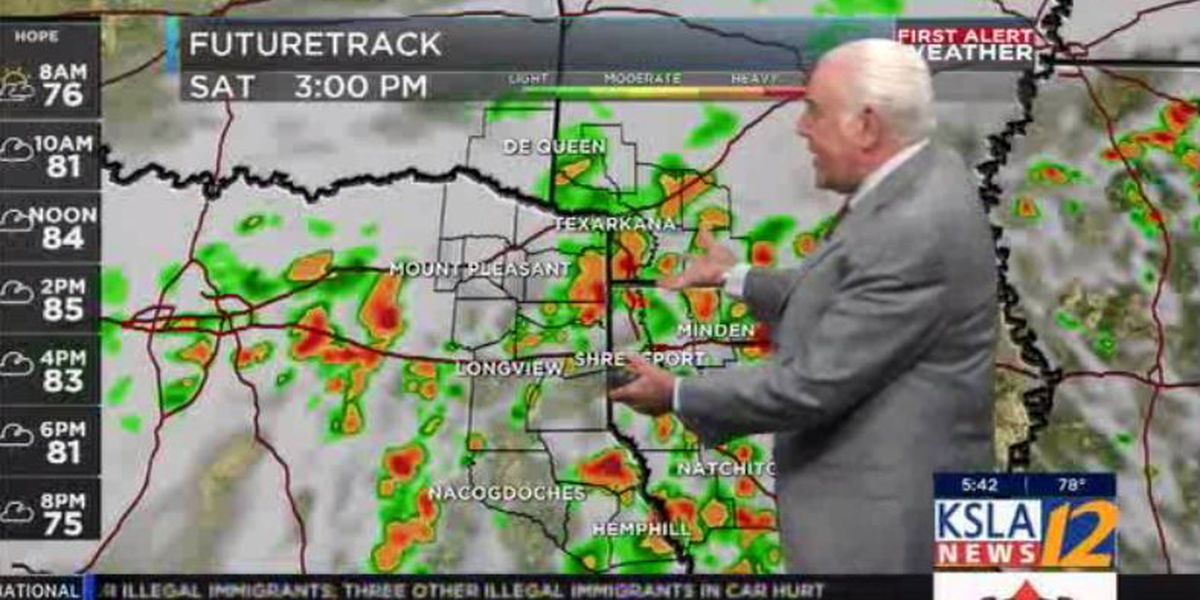 FIRST ALERT WEATHER: Showers expected this weekend