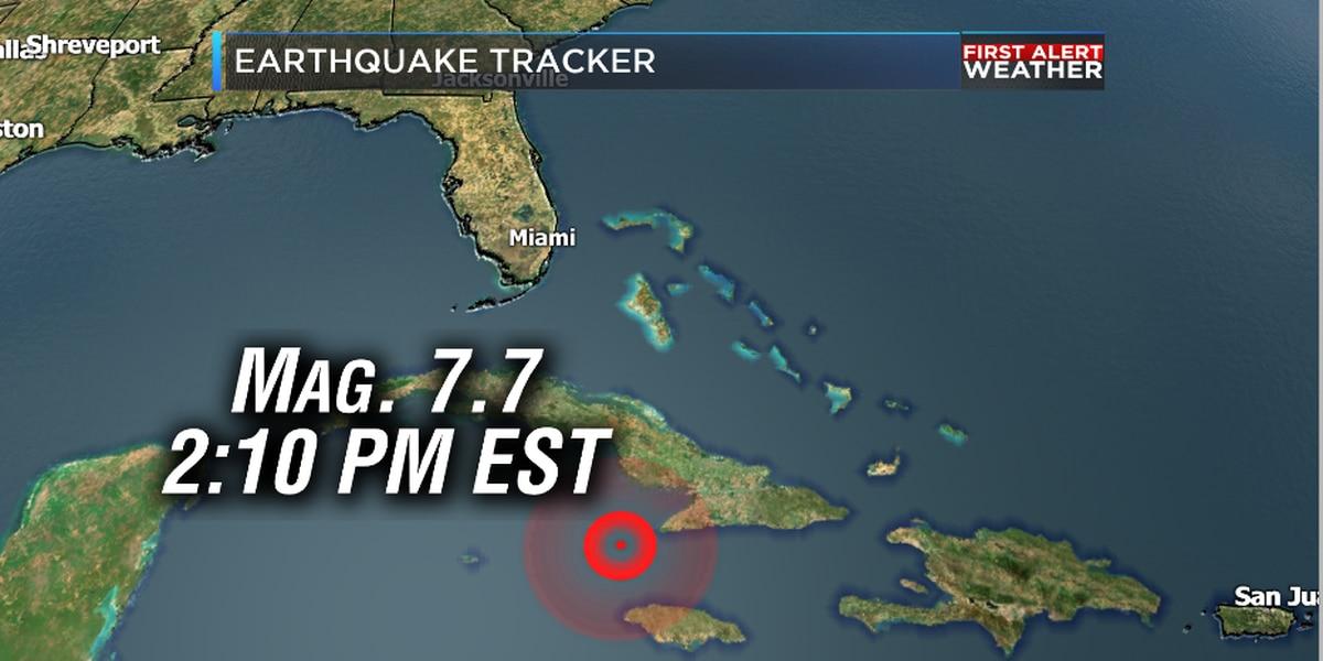 Florida residents report feeling powerful natural disaster that hit between Cuba, Jamaica