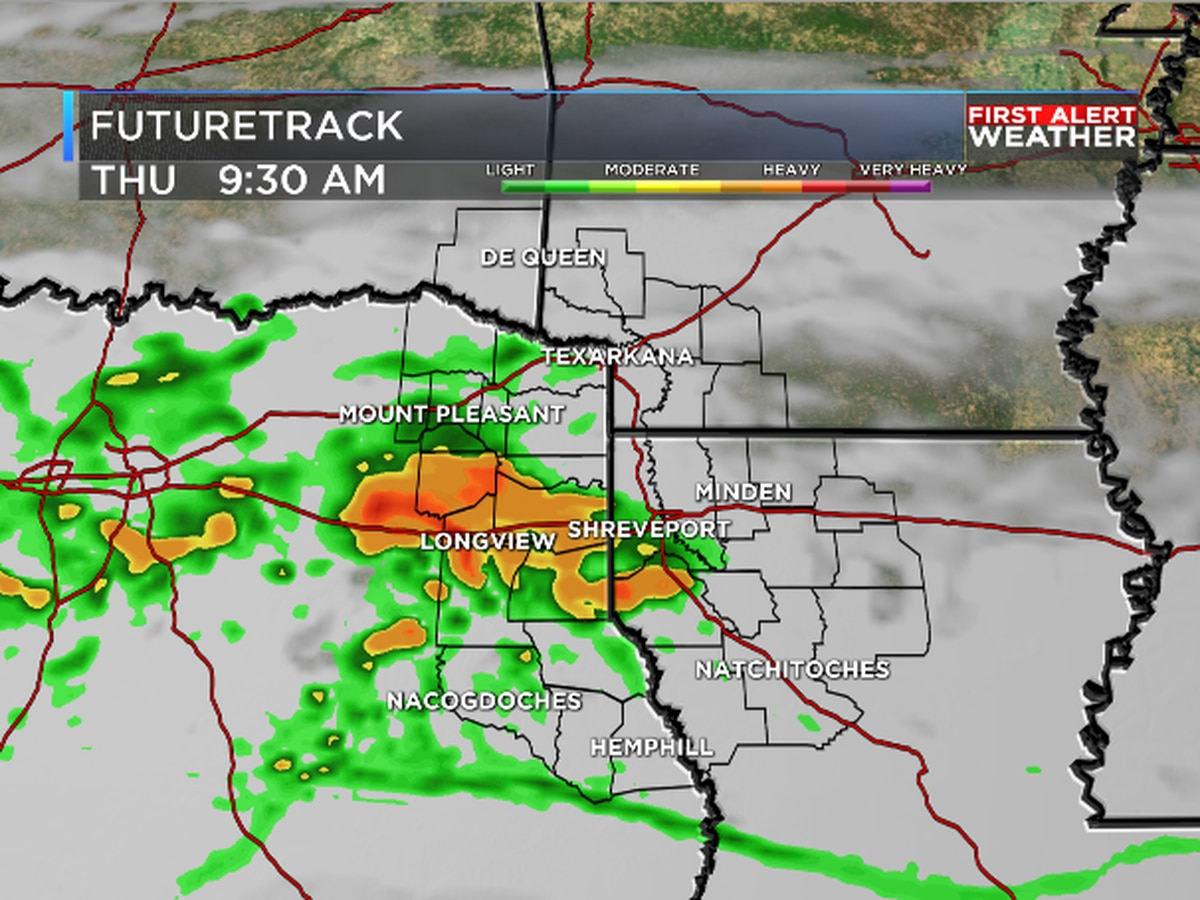 Wet week continues for ArkLaTex
