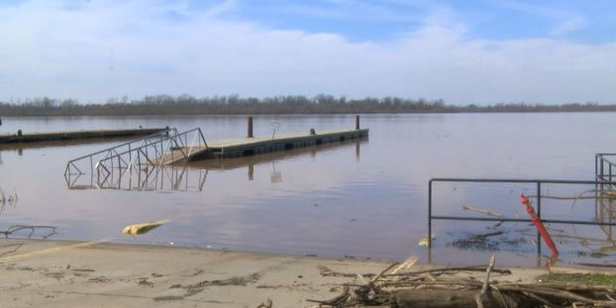 Businesses along Red River play catch-up following February floods