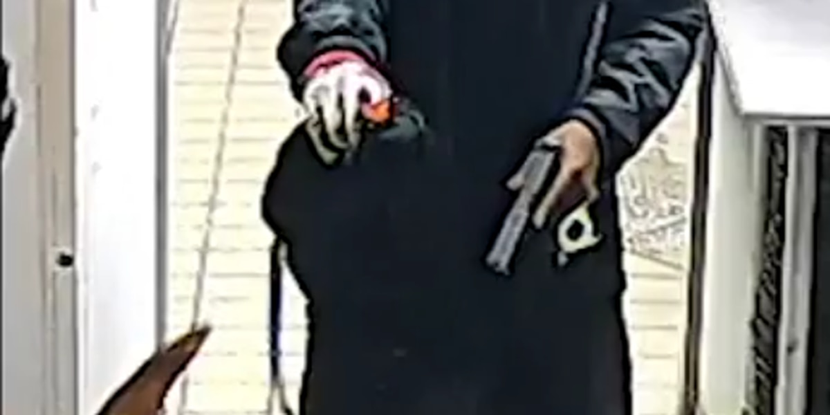 Masked gunmen wanted for robbing Little Caesars Pizza