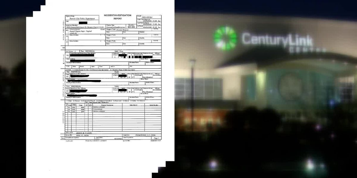 BCPD investigating reported raped at CenturyLink Center