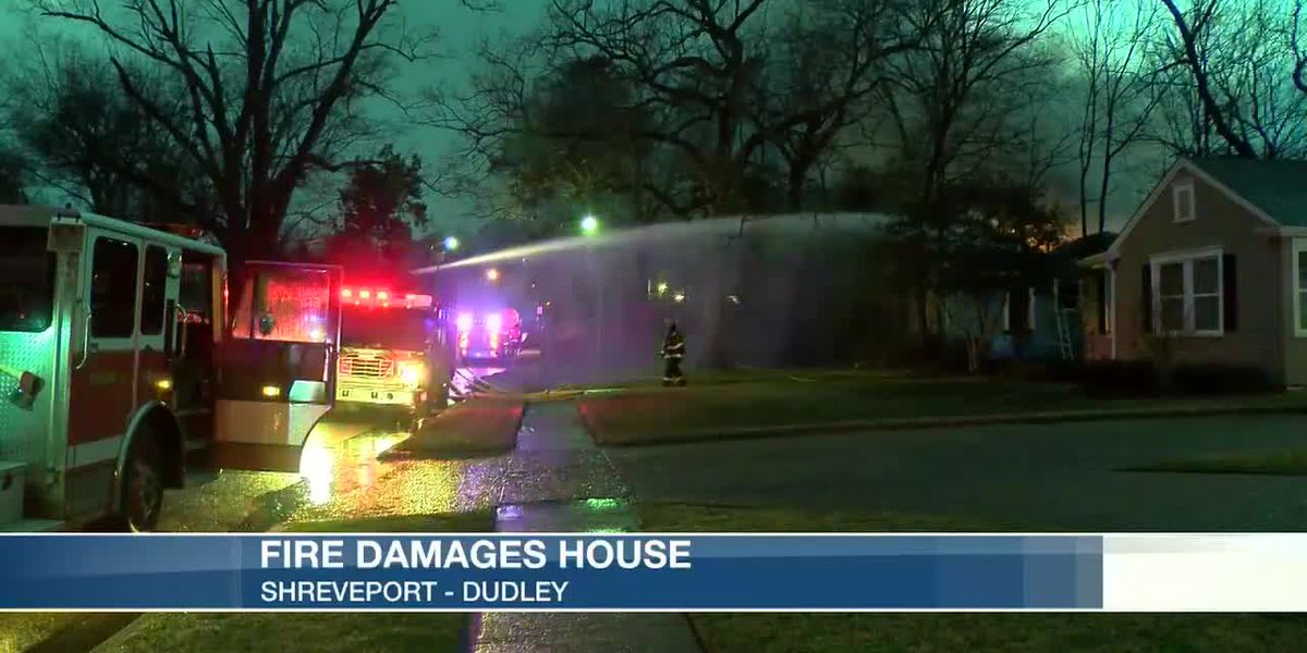 Fire damages house on Dudley Drive