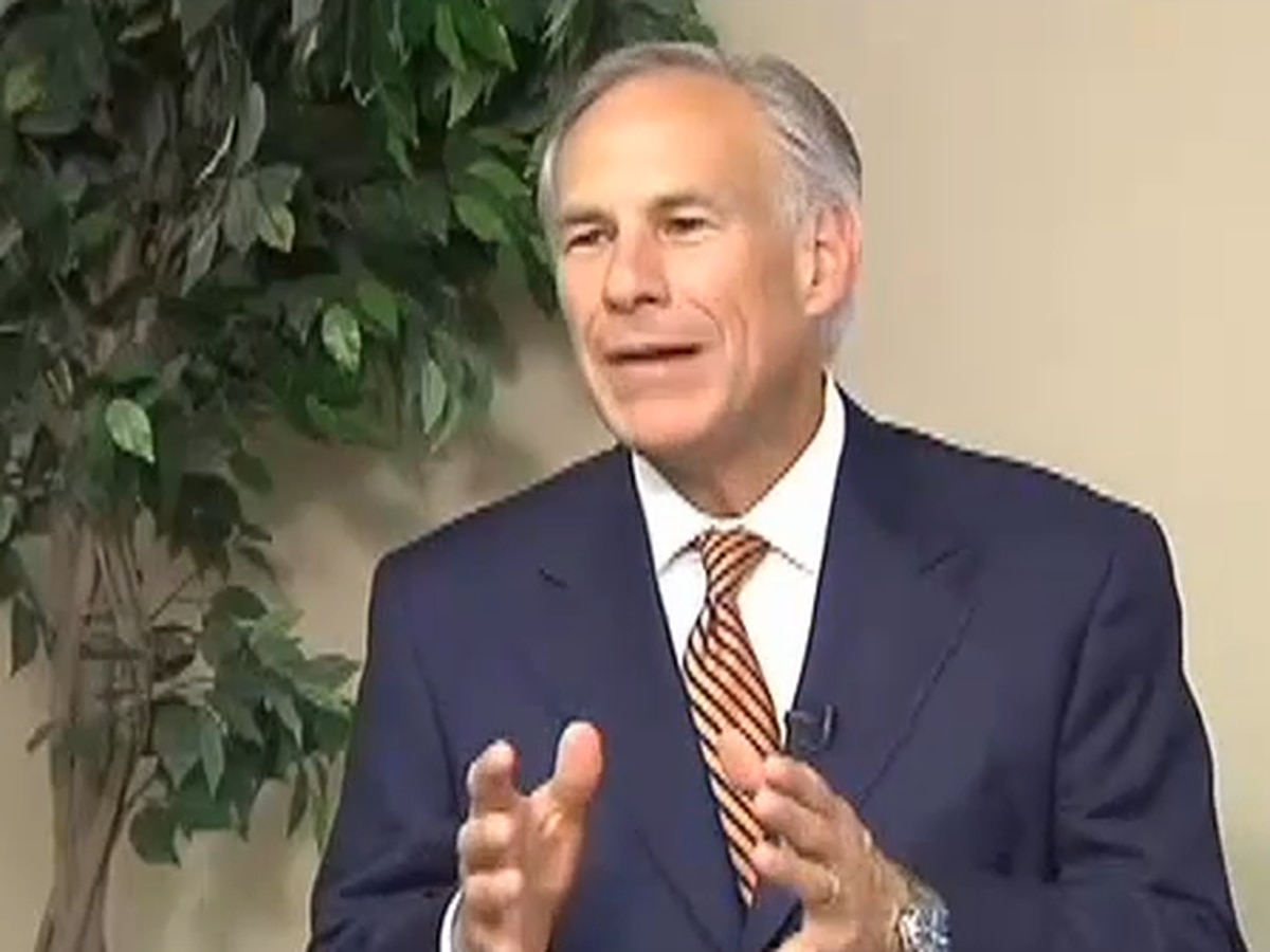 Governor Abbott declares state of disaster for counties impacted by Imelda