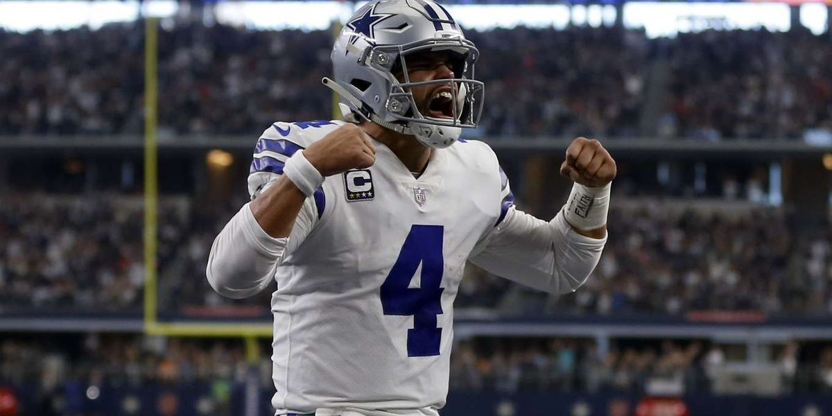 Cowboys' Dak Prescott in Bossier for youth football camp, induction ceremony