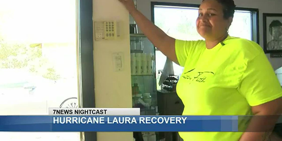 Local salon owner sees a brighter future through the destruction