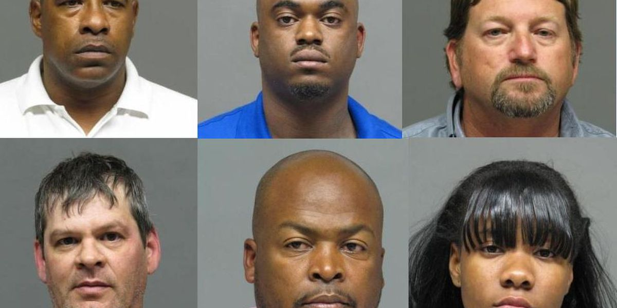 Six arrested in prostitution sting at Bossier City hotel