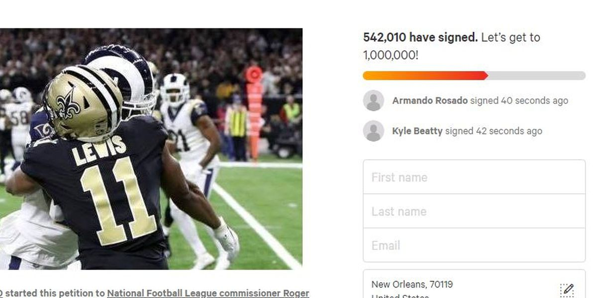 Petition for rematch over 500k signatures