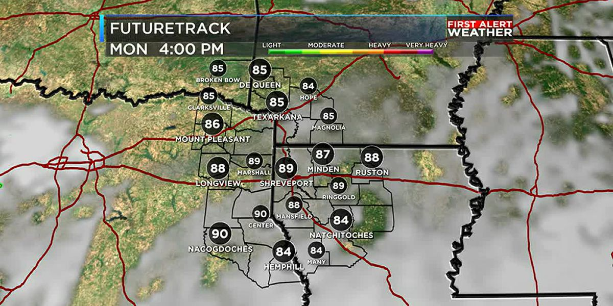 James' Morning Forecast: Rain moves out this morning
