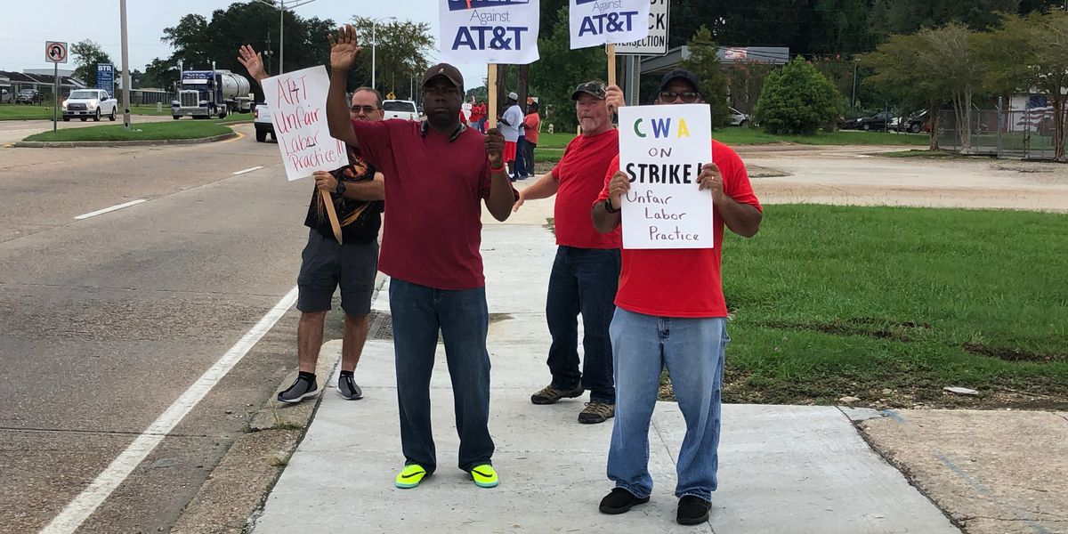 AT&T workers end strike over 'unfair labor practices,' return to work