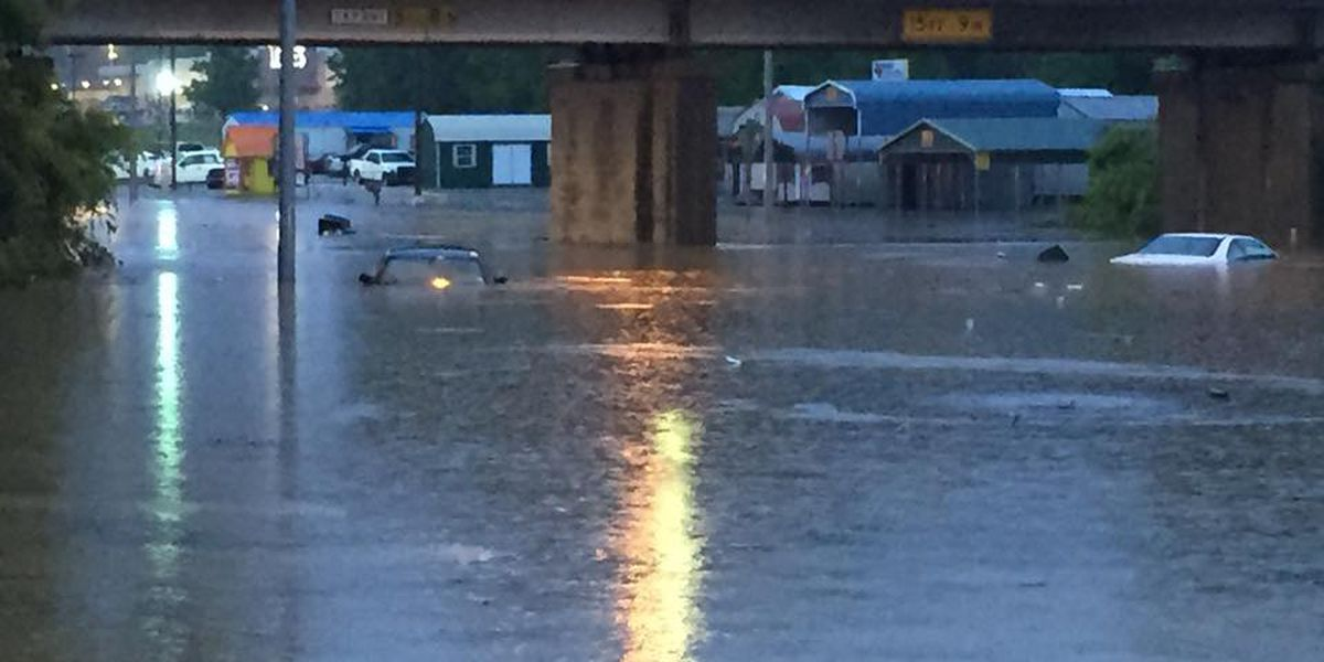 Severe weather causes flooding, power outages in ETX