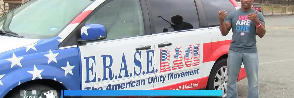 USMC veteran hits to road to erase race, help unify US
