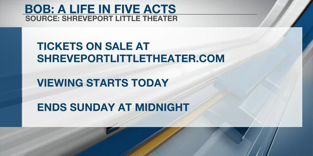INTERVIEW: Shreveport Little Theater's 'Bob: A Life in Five Acts'