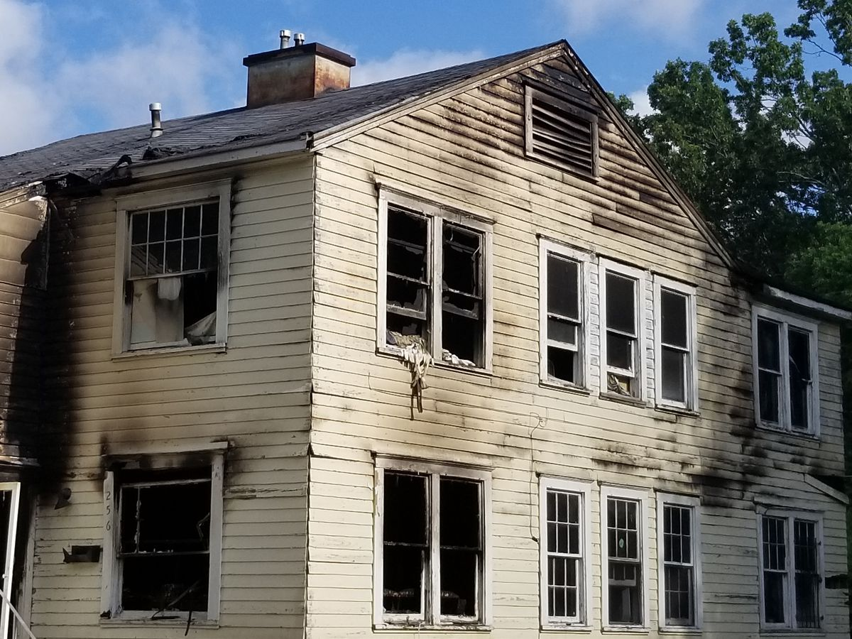 SFD fights Sunday morning house fire, 2 firefighters injured