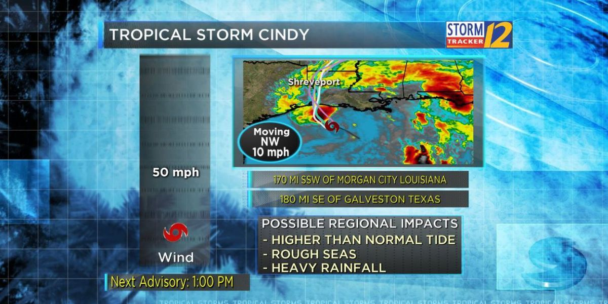 Gov. Edwards offers update on TS Cindy, emergency declaration