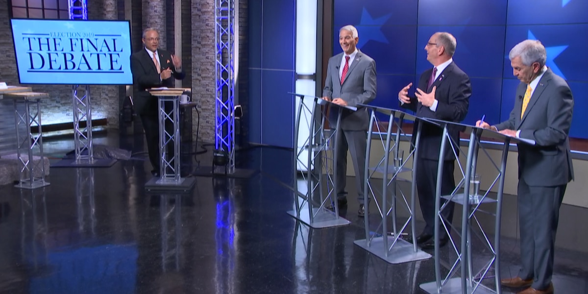KSLA hosted final Louisiana gubernatorial debate