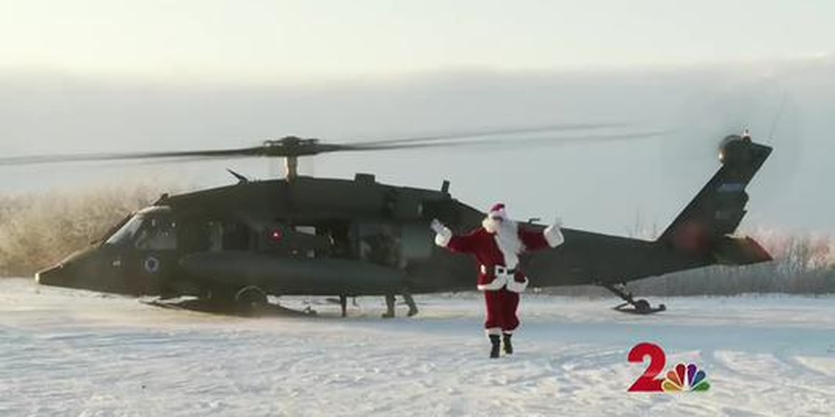 National Guard brings holiday cheer to Napakiak