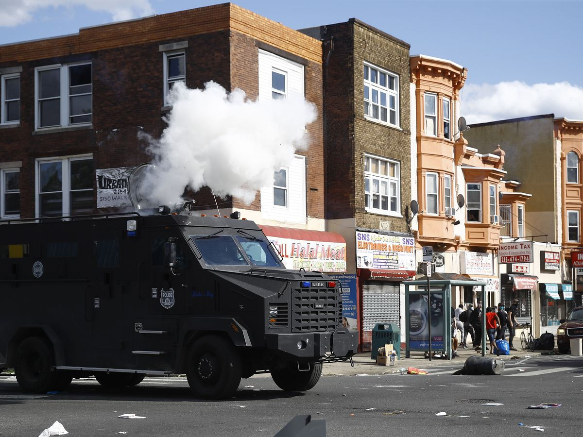 Philadelphia protesters sue city over tear gas, use of force