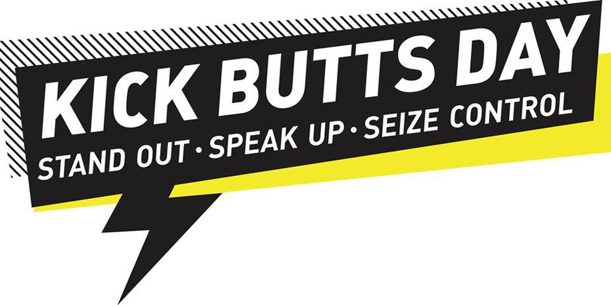 National Kick Butts Day is March 20