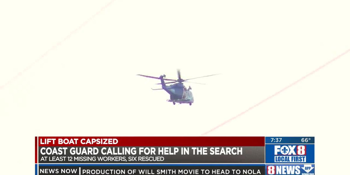 USCG calling on all marine operators to assist in search of missing workers