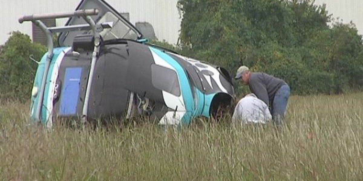 Helicopter crash near Downtown Airport injures 3