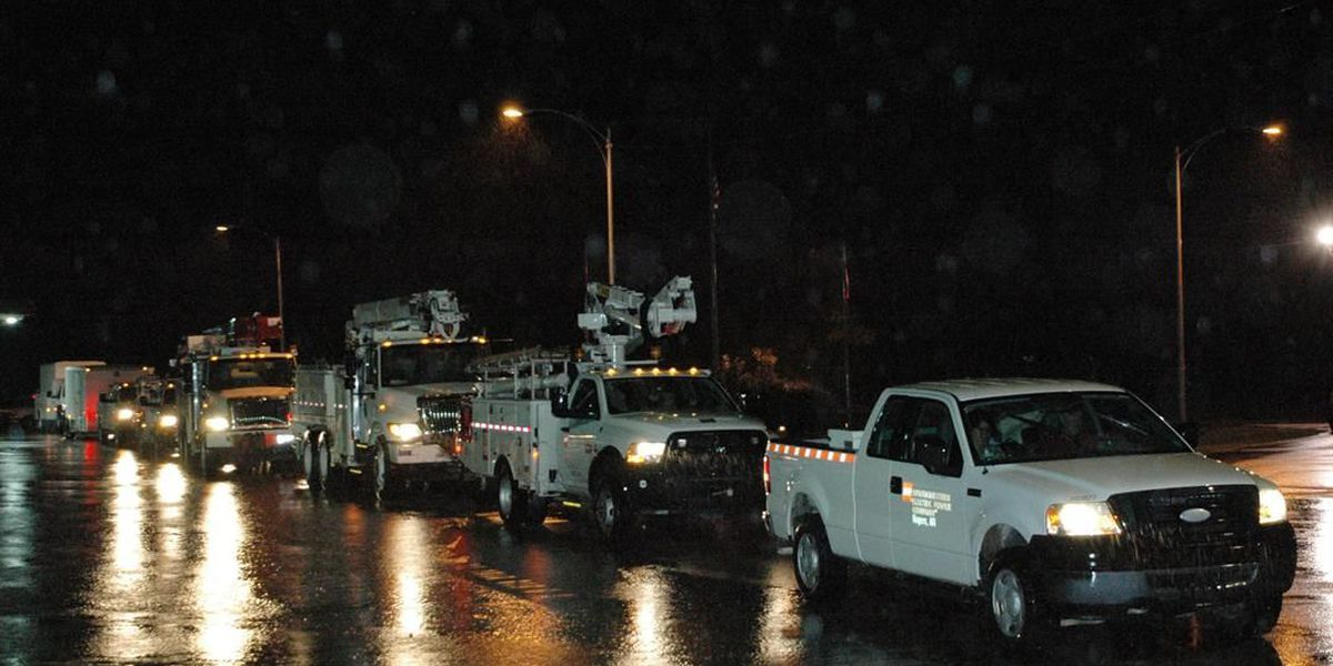 ArkLaTex utility crews leave to help with hurricane recovery